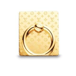 ルイヴィトン(LOUIS VUITTON)の新品♡未使用♡未開封 LOUIS VUITTON テレフォンナノグラム ゴールド(iPhoneケース)