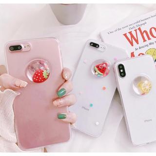 フルーツが流れる♡夏らしいiPhoneケース   (iPhoneケース)