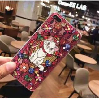 iphone7 ディズニースマホケース マリー  ★即購入OK★(iPhoneケース)