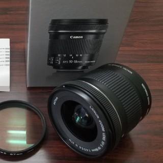 Canon - 美品! 超広角 キャノン EF-S 10-18mm  IS STM