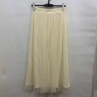 チュールスカート(ロングスカート)