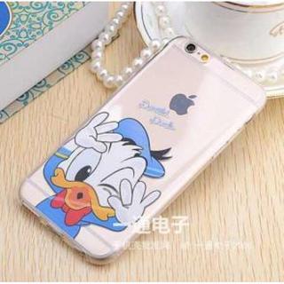 iphone6/6s ディズニースマホケース ドナルド ★即購入OK★(iPhoneケース)