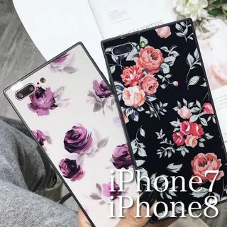 おしゃれな 花柄 iPhoneケース(iPhoneケース)