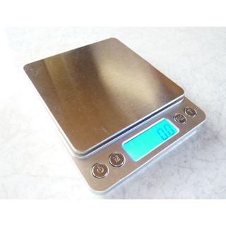 0.1g~3000g ステン デジタル キッチン スケール ハカリ 秤 電池付