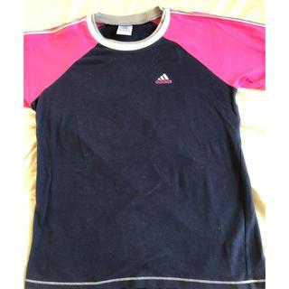 アディダス(adidas)の☆ アディダス レディース シャツ 綿94% Lサイズ ☆(Tシャツ(長袖/七分))