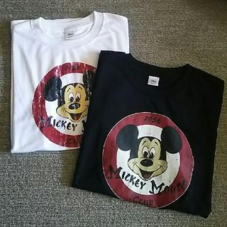 ディズニー(Disney)のディズニー  ミッキー Tシャツ サイズM 2セット(Tシャツ(半袖/袖なし))