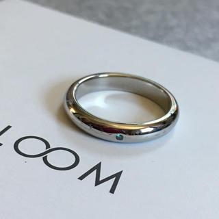 値下げ  新品 BLOOM ☆ブルー ダイヤモンドリング(リング(指輪))