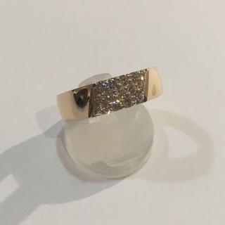 k18 ピンクゴールド ダイヤリング(リング(指輪))
