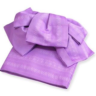 浴衣 作り帯 紫(浴衣帯)