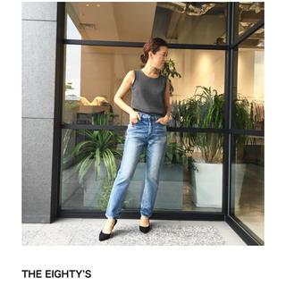 エストネーション(ESTNATION)のupper hights THE EIGHTY'S デニムパンツ(デニム/ジーンズ)