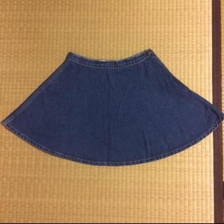 アメリカンアパレル(American Apparel)のアメアパ♡サークルデニムスカート(ミニスカート)