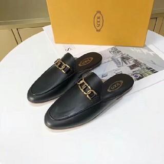 トッズ(TOD'S)のTOD'S トッズ イタリア製 バブーシュ スリッパ ホワイト 箱付き(ローファー/革靴)