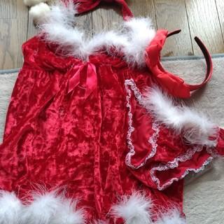 エメフィール(aimer feel)のクリスマス サンタ系 コスプレ ベロア ファー 赤 真紅 エメフィール(衣装一式)