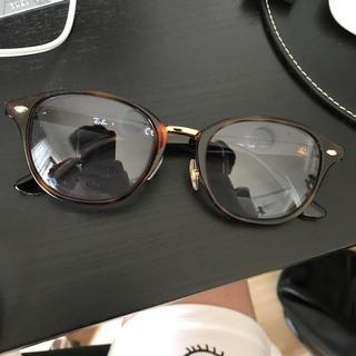 レイバーんサングラスメガネ!鼈甲タイプのゴールドフレーム(サングラス/メガネ)