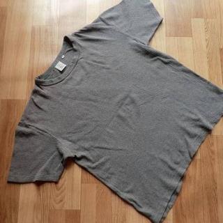アヴィレックス(AVIREX)のAVIREX USA アヴェレックス■ソリッド・半袖Tシャツ■茶鼠■メンズ XL(Tシャツ/カットソー(半袖/袖なし))