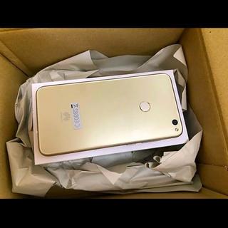 アンドロイド(ANDROID)のHUAWEI nova lite ゴールド Android 新品(スマートフォン本体)