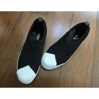アディダス(adidas)のどんぺり様専用【新品・未使用】 《adidas》 スーパースタースリッポン(スニーカー)