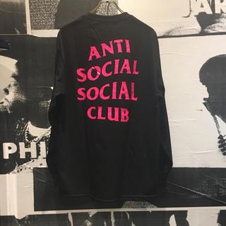 アンチ(ANTI)のSALE! ASSC L/S TEE BLACK 希少(Tシャツ/カットソー(七分/長袖))