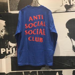 アンチ(ANTI)のSALE! ASSC L/S TEE ROYAL ロンT 希少(Tシャツ/カットソー(半袖/袖なし))