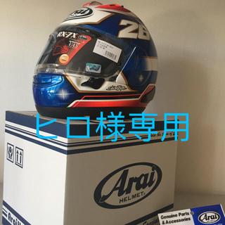 アライテント(ARAI TENT)のアライ(ARAI) ヘルメット フルフェイス RX-7X ペドロサ57-58cm(ヘルメット/シールド)