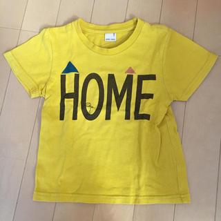 プティマイン(petit main)のマスタードイエローTシャツ(Tシャツ/カットソー)