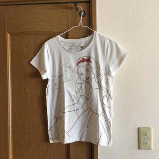 ディズニー(Disney)のディズニーTシャツ♡白雪姫(Tシャツ(半袖/袖なし))
