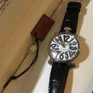 ガガミラノ(GaGa MILANO)の【GaGaMILANO】ガガミラノ 腕時計☆美品(腕時計(アナログ))