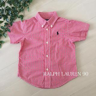 Ralph Lauren - ☆美品☆ラルフローレン シャツ 90 チェック ブラウス
