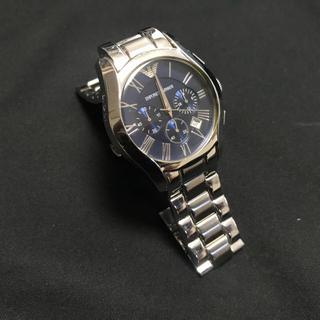 エンポリオアルマーニ(Emporio Armani)のアルマーニ 時計 ネイビー(腕時計(アナログ))