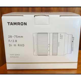 SONY - TAMRON 28-75mm F2.8 Di III RXD 新品未開封