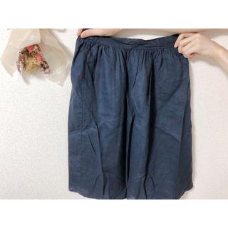 MUJI (無印良品) - リネン ギャザースカート