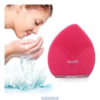 電動 洗顔ブラシ 音波洗顔 クレンジング ブラシ 毛穴(洗顔ネット/泡立て小物)