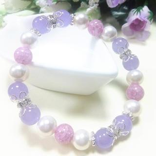 紫クラック&パープル✨紫011