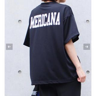 アメリカーナ(AMERICANA)の極美品 2018 完売 America アメリカーナ  メッシュ Tシャツ(Tシャツ(半袖/袖なし))