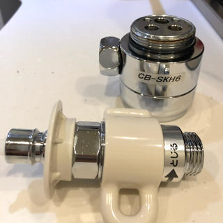 分岐水栓 CB-SKH6 パナソニック 食器洗い乾燥機用(食器洗い機/乾燥機)