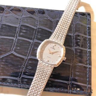 【CYMA】L616 クォーツ腕時計 WH-1410