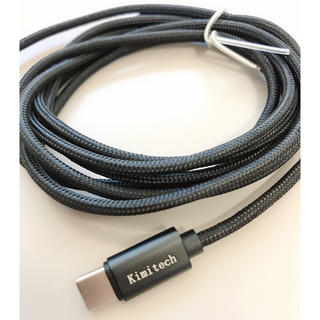アンドロイド(ANDROID)のTypecタイプCデータ 充電ケーブル 2個入り(その他)