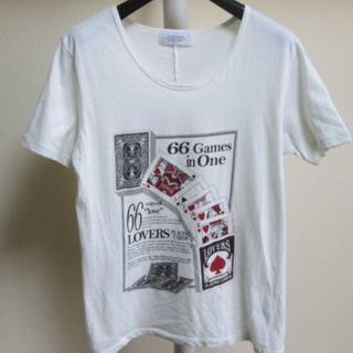 イチミリ(ichi-miri)のN-58  ICHI ・MIRI  プリント 半袖Tシャツ(Tシャツ/カットソー(半袖/袖なし))