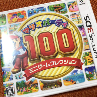 ニンテンドー3DS - マリオパーティー100ミニゲームコレクション 3DS ソフト