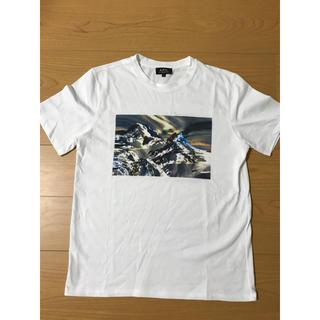 アーペーセー(A.P.C)のA.P.C. アーペーセー 雪山 Tシャツ(Tシャツ/カットソー(半袖/袖なし))