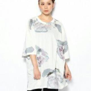 アクネ(ACNE)のACNE 水彩画 Tシャツ(Tシャツ(半袖/袖なし))