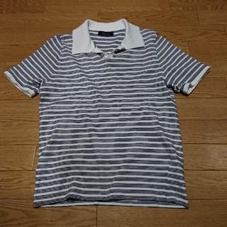 ZARA - ZARA MAN ザラ ボーダー 半袖 ポロシャツ