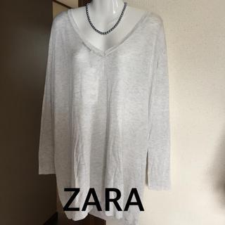 ザラ(ZARA)のニットチュニック(チュニック)