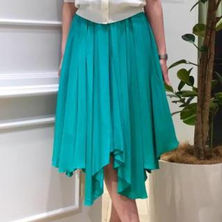 アンドクチュール(And Couture)のAnd Couture(アンドクチュール)のイレギュラーヘムスカート 新品未使用(ひざ丈スカート)