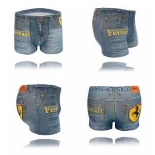 メンズ デニム に見える パンツ XL フェラーリ シームレス プレゼント (ボクサーパンツ)