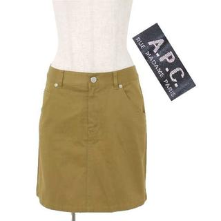 アーペーセー(A.P.C)のA.P.C ミニスカート sizeS カーキ アーペーセー(ミニスカート)