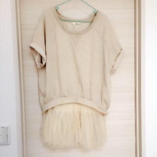 ミスティウーマン(mysty woman)の3:2点セットアップ(Tシャツ(半袖/袖なし))