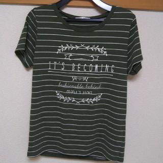 シマムラ(しまむら)のしまむら Tシャツ ボーダー ボーダーT(Tシャツ(半袖/袖なし))