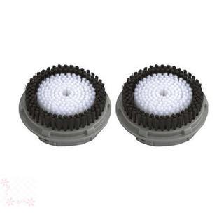 ハングサン 洗顔ブラシ SC100専用 ボディブラシ 替えブラシ 2本組(洗顔ネット/泡立て小物)