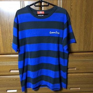 シックスシックスシックス(666)のcream soda tシャツ ボーダー パーカー ジャケット temmye m(Tシャツ/カットソー(半袖/袖なし))
